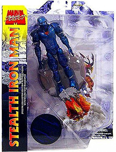 Diamond Select Toys Marvel Select Stealth Iron Man Action Figure