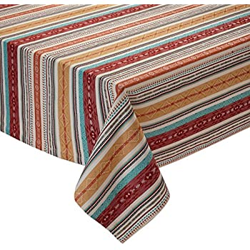 Amazon Com Design Imports Southwest Table Linens 60 Inch