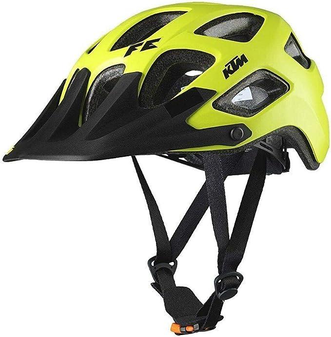 KTM Bicicleta de montaña casco – Factory Enduro (Talla 56 – 60 – Amarillo Negro de: Amazon.es: Deportes y aire libre
