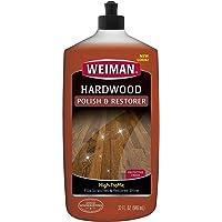 Weiman High Traffic Hardwood Polish & Restorer, 946ml , Packaging may vary