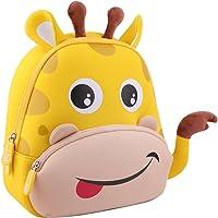Giraffe Kindergarten Pre-school Kids Backpack (Yellow)