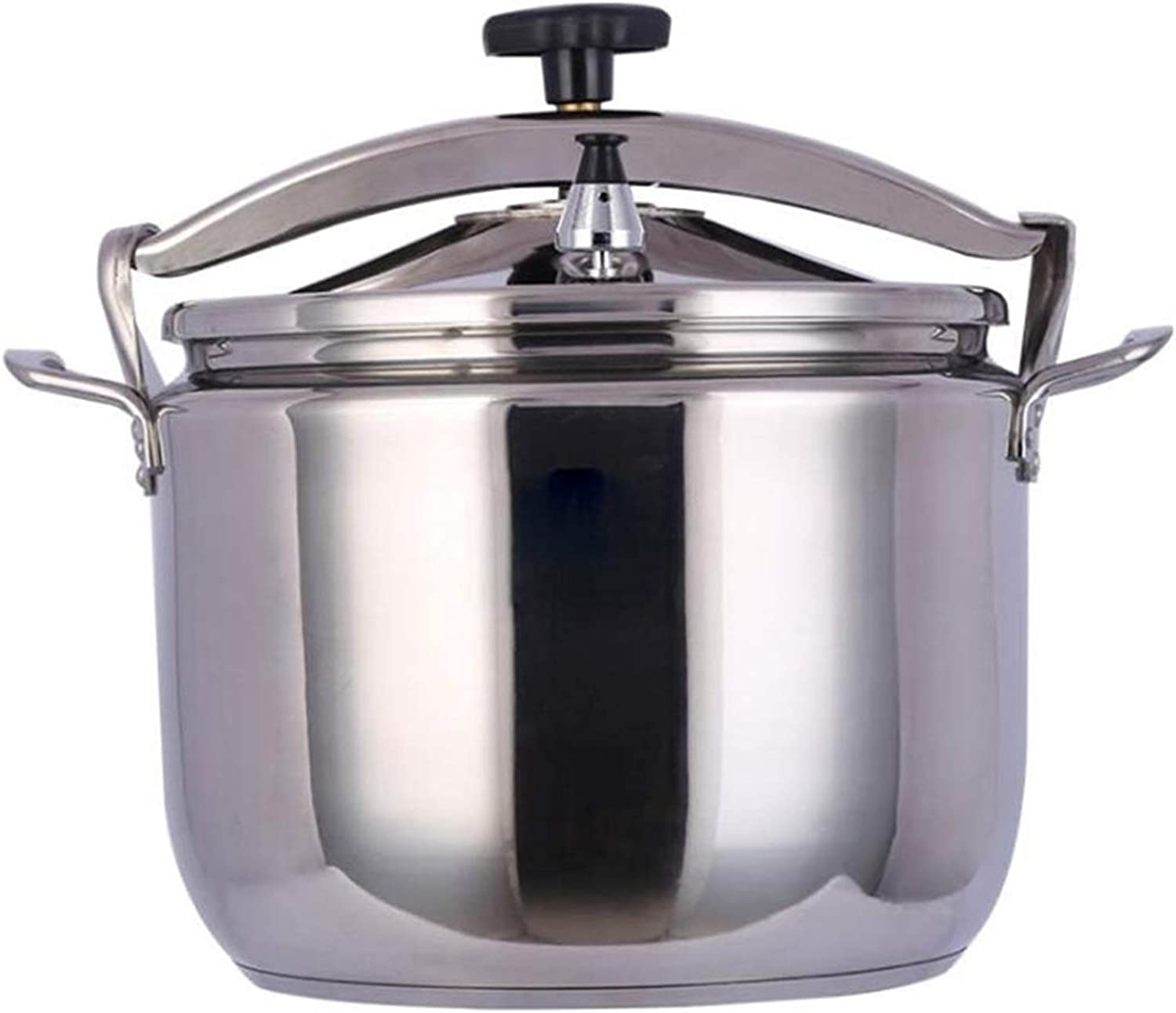 Commercial 304 stainless steel sealed large-capacity pressure cooker is suitable for induction cooker, open flame electric ceramic stove, hotel kitchen restaurant, etc. 15L-40L