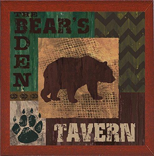 Bear's Den Tavern Framed Print 32''x32'' by Fiona Stokes-Gilbert by Frame USA