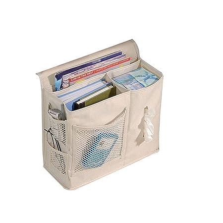Panniuzhe 6 Taschen Nachttisch Storage Bett Organizer Zum Aufhangen