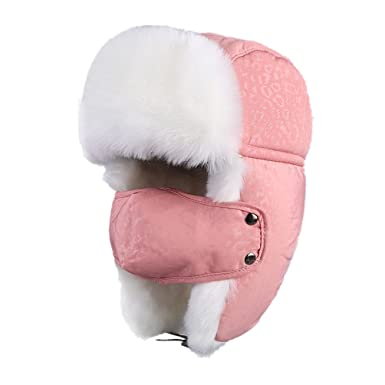 Generic - Chapka - Femme taille unique - rose - Taille Unique ... c07da633ad2
