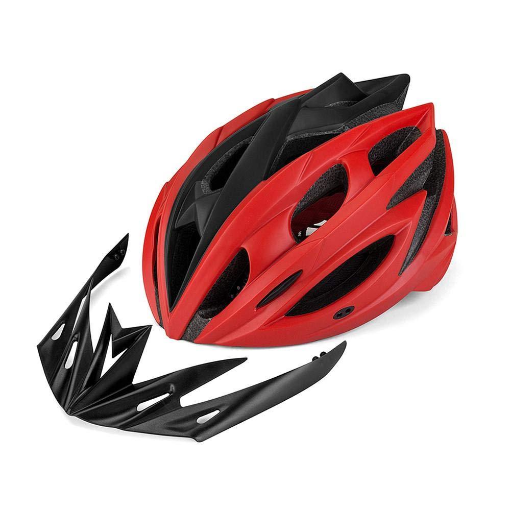 Nicemeet Bicycle Mountain Bike Helmet, One-Piece Sun Protection Earthquake Riding Helmet F-693 (3 Colors)