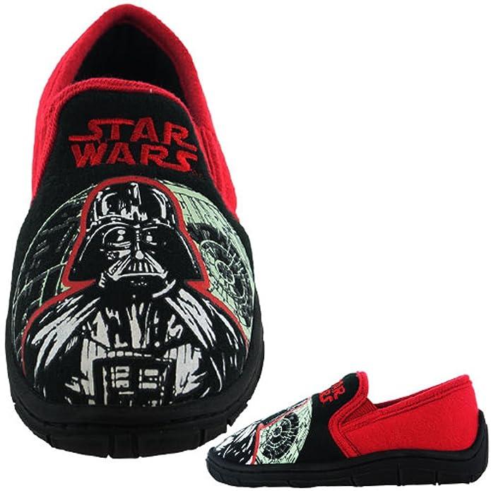 WILLIAM LAMB Offizielle Star Wars Kinder Hausschuhe – Glow