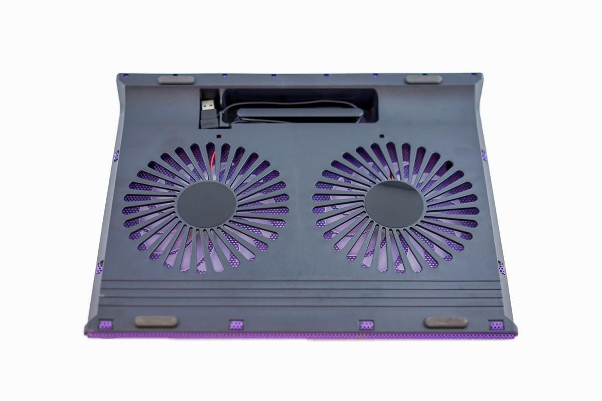 Sanoxy USB Laptop Notebook Cooling Pad 2 Medium Fan for your Apple MacBook Pro, Notebooks, Laptops, Purple (SANOXY-LT-2COL-PPL) by SANOXY (Image #5)