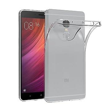 E-Hamii Funda Xiaomi Redmi Note 4X, Transparente TPU Cascara ...