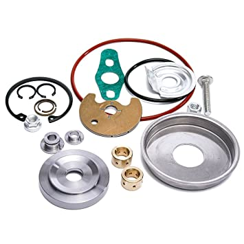 epman tr-cgq166ht Turbo Repair Rebuild Kit de servicio Reverse Upgrade Kit de reparación Turbocompresor Reconstruir: Amazon.es: Coche y moto