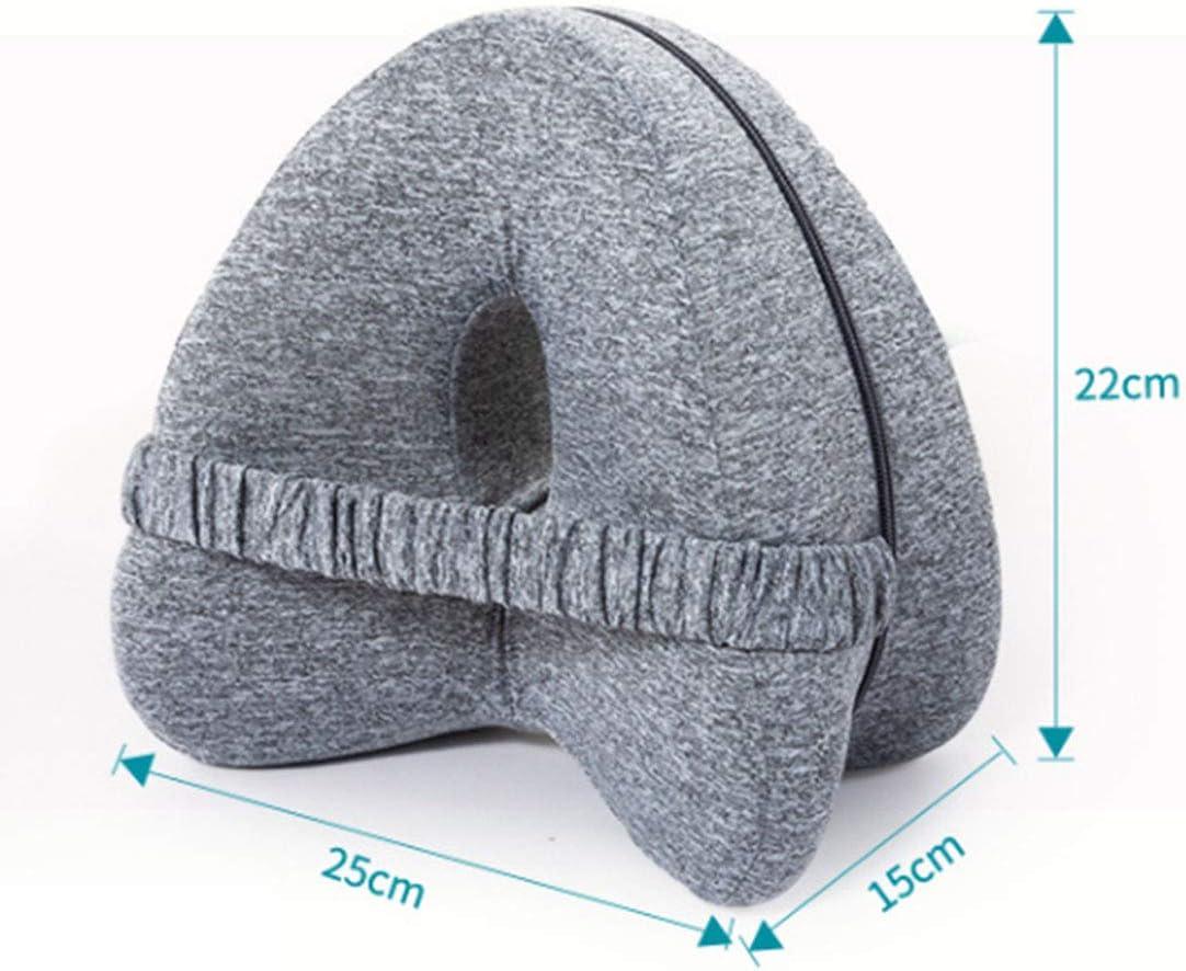 Knee Pillow for Sleeping Comfort 100/% Pure Memory Foam Knee Pillow Support Pillow