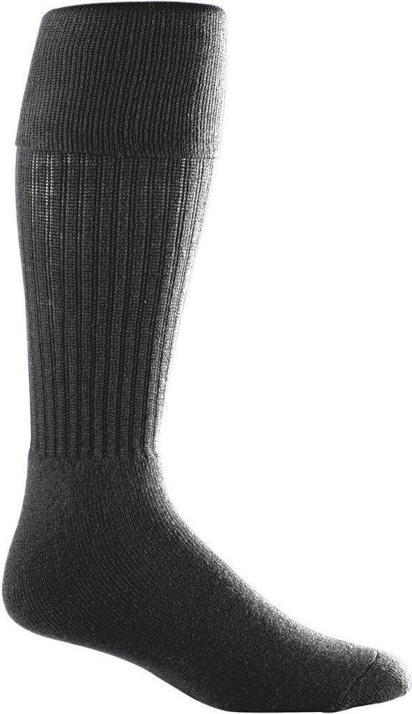 Augusta Sportswearメンズサッカーソックス B003WXXPIQブラック Large