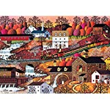 Buffalo Games Waterfall Valley by Charles Wysocki Jigsaw Puzzle from The Americana Collection, 500 Piece