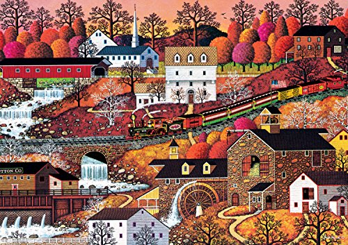 Buffalo Games - Charles Wysocki Americana Collection - Waterfall Valley - 500 Piece Jigsaw Puzzle