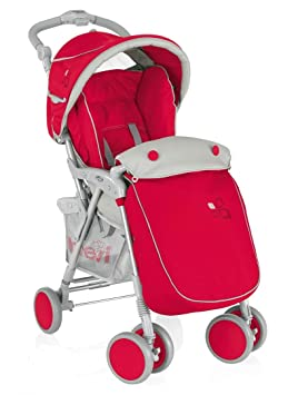 Brevi 711003 Carrito tradicional 1Asiento(s) Rojo silla de ...