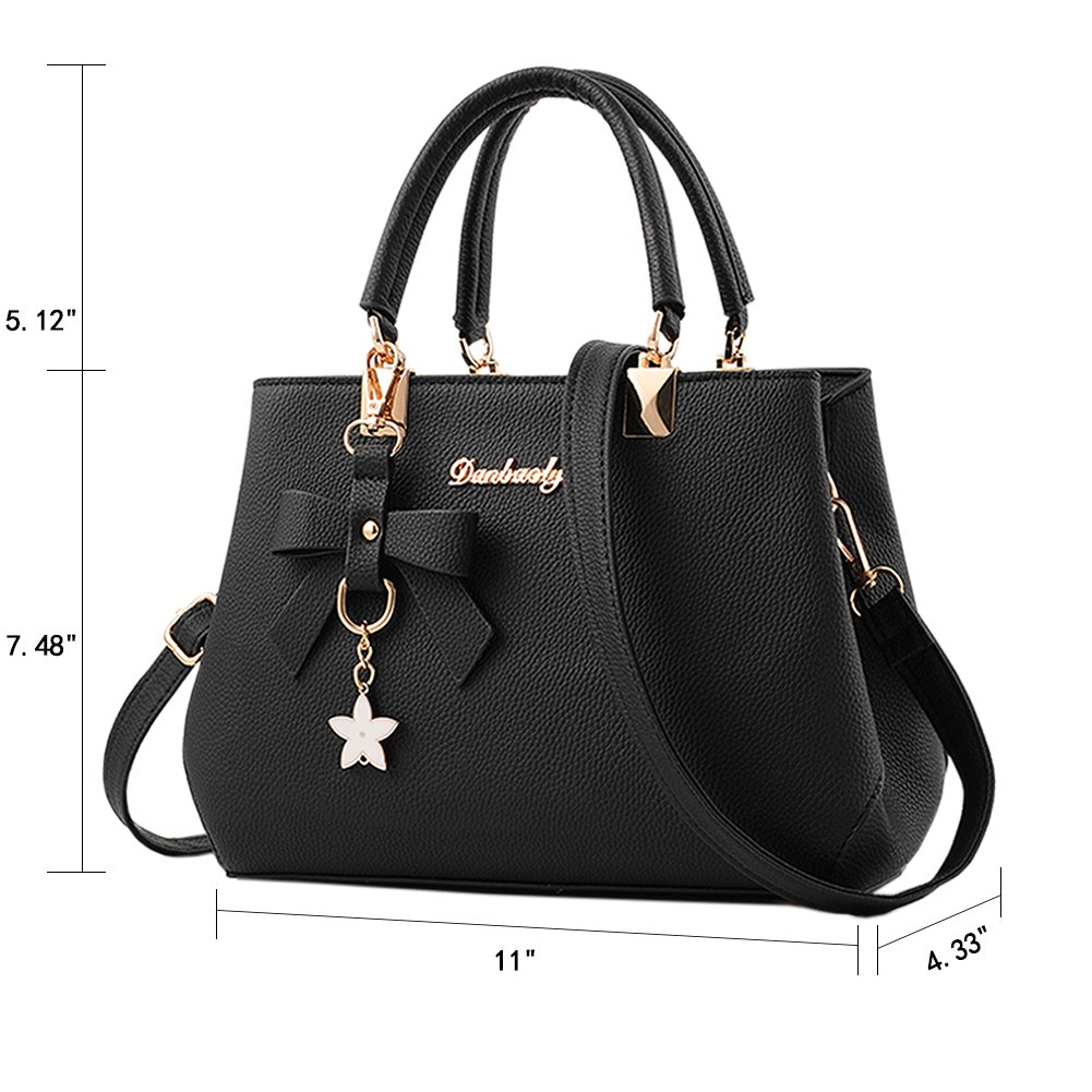 be968109a535 Fantastic Zone Women s Leather Handbags Fashion Handbags for Women Ladies Bags  Handbags