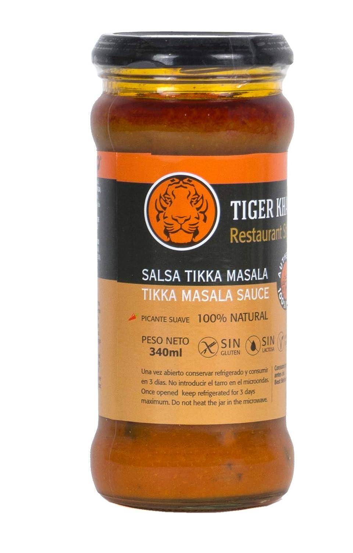 Tiger Khan Salsa Asiática India Tikka Masala - 340 gr: Amazon.es: Alimentación y bebidas