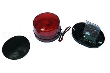 Licht Alarm Auto : Led blitzleuchte rot 12v alarm licht: amazon.de: baumarkt