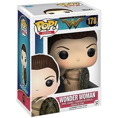 Pop! Heroes Wonder Woman Vinyl Figure Wonder Woman (Themyscira) #178 Hot Topic Exclusive: Toys & Games