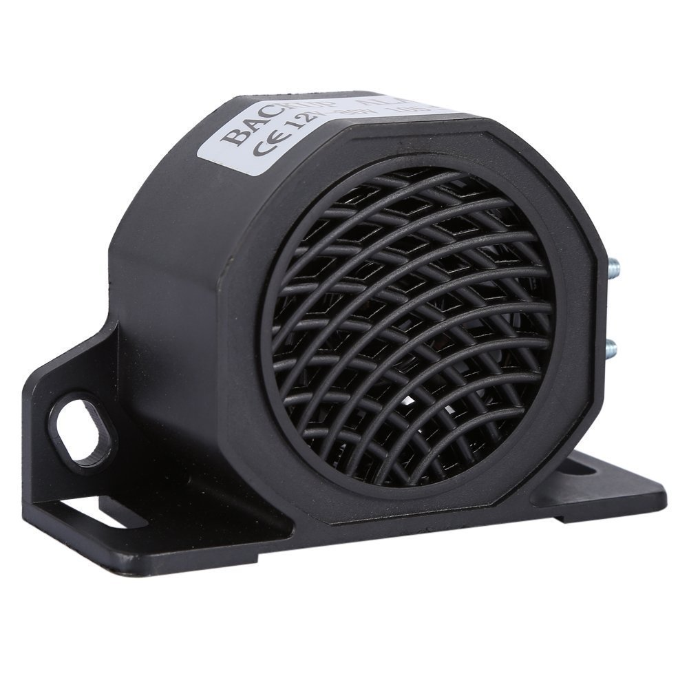 12V-80V 105 DB Universal Car Horn, Waterproof Backup Reverse Beeper Warning Alarm for Vehicles Trucks Heavy Equipment Yarr Store