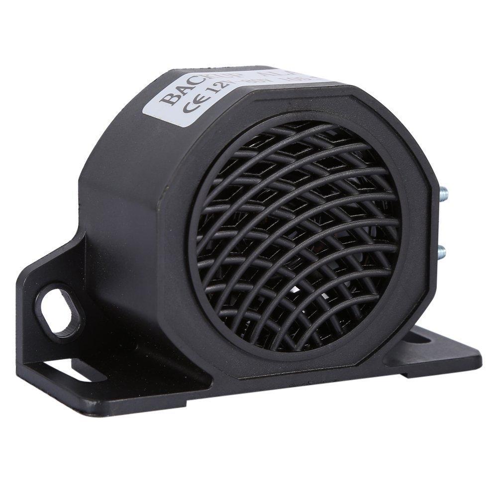 12V-80V 105 DB Universal Car Horn, Waterproof Backup Reverse Beeper Warning Alarm for Vehicles Trucks Heavy Equipment