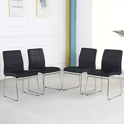 Modern Dining Room Chairs Set of 4