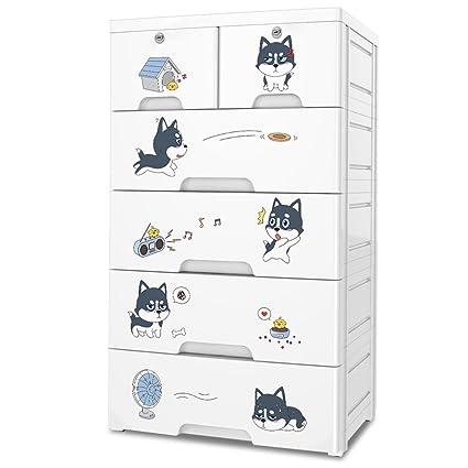 Amazon Com Nafenai Plastic Kids Closet Wardcode Storage With 4