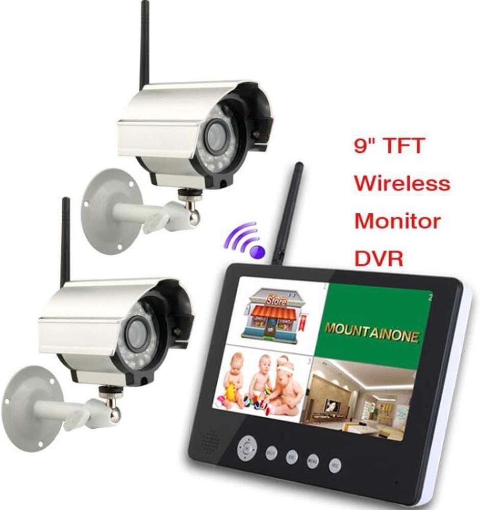 BD.Y Cámara Digital con Sistema de Seguridad por Infrarrojos de visión Nocturna de 9