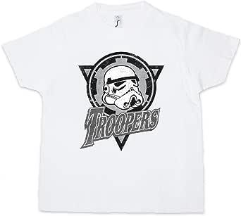 Urban Backwoods Troopers Logo Niños Chicos Kids T-Shirt