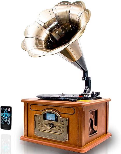 Lauson Cl147 Grammophon Plattenspieler Bluetooth Elektronik