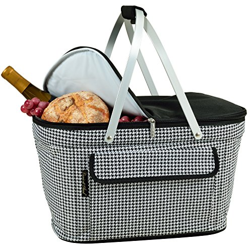 - Picnic at Ascot Patented Insulated Folding Picnic Basket Cooler- Designed & Quality Approved in the USA