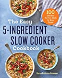 ***LIMITED TIME PROMOTIONAL PRICE***Take dinner off of your to-do list with The Easy 5-Ingredient Slow Cooker CookbookFitting cooking into your busy schedule can seem next to impossible when your caught up in the hustle and bustle of everyday...