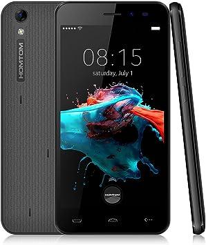Homtom HT16 Smartphone Libre, 3G Teléfonos Inteligente(5.0 ...