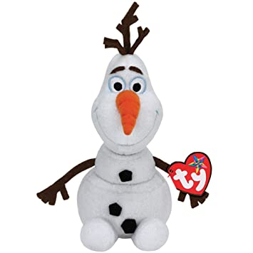 Amazon.com  NEW Disneys Frozen Olaf Ty Beanie Babies Baby Snowman Plush   Baby d4c998024214