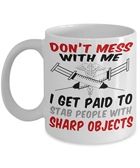 BEST FUNNY GIFTS for Best Eye Doctors ~ Unique Ceramic funny coffee Mug with quote &