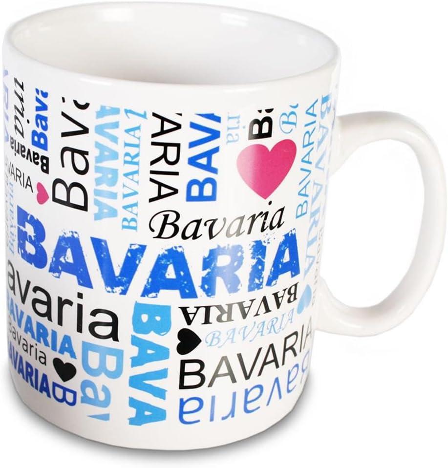 I LOVE BAVARIA Der XXL Keramikbecher (0,75l) für Bayernfans