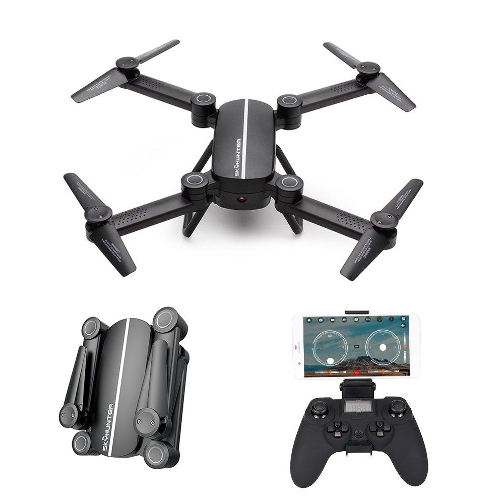 Koeep Skyhunter X8 Drohne mit HD-Kamera, 2,4 Ghz 6-Achsen-Gyro FPV RC Quadcopter mit Höhenhaltefunktion