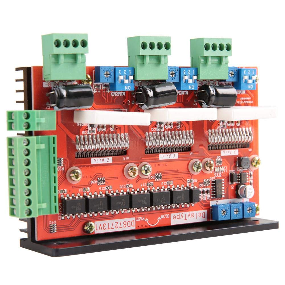 Stepper Motor Driver 3 Axis 2-Phase 4A Stepper Motor Driver Controller 128 Microstep LV8727 DD8727T3V1