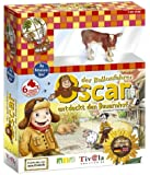 Oscar entdeckt den Bauernhof (mit Plastiktier)