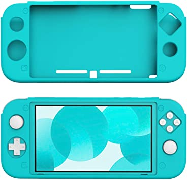 TiMOVO Funda Compatible con Nintendo Switch Lite, Cubierta Protectora Silicona Resistente, Accesorio de Decoración Anti-caída/Rasguños para la Consola Nintendo Switch Lite, Turquesa: Amazon.es: Electrónica