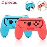 Nasjac Controles Remotos de Nintendo Switch, Nintendo Switch Grips para Joy Con Juegos, Manija Resistente Desgaste Accesorios