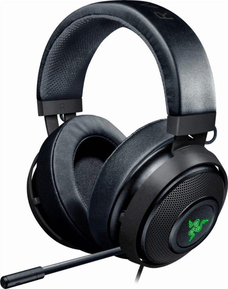 Razer Kraken 7.1 V2 Gunmetal Edition - Digital Gaming Headset - Oval Ear Cushions - RZ04-02060400-R3M1 (Certified Refurbished) RAZJ9 - pallet ordering