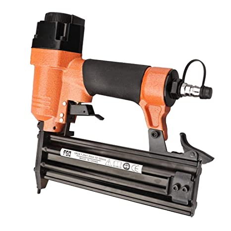 B Blesiya Adjustable Pneumatic Coil Roofing Nailer Gun 10