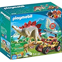 PLAYMOBIL® Explorer Vehicle with Stegosaurus Building Set