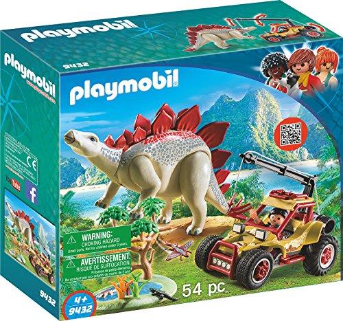 PLAYMOBIL® Explorer Vehicle with Stegosaurus Building Set JungleDealsBlog.com