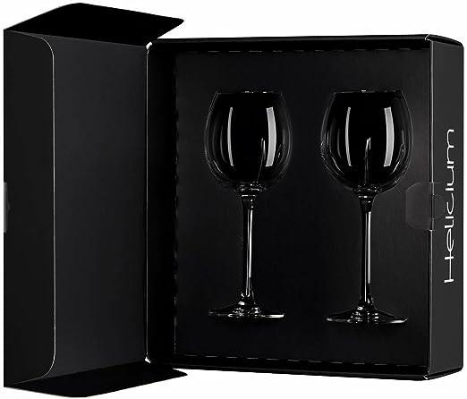 Arnaud Baratte Helicium - Estuche con dos copas especial para cata de vino: Amazon.es: Hogar