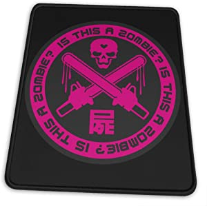 Anime & is This A Zombie Hemming The Esports Mouse Pad Office Accessories Desk Decor Slip Rubber Mouse Pad