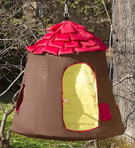 Magic Cabin Go Hangout HugglePod Hanging Play Tent Tree Fort  Indoor or Outdoor Use  54 H x 45 W