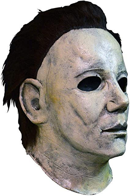 Maschere spaventose Maschera in lattice Cosplay Full Face Costume di Puntelli per adulti JaCos Maschera di Halloween Maschera di Michael Myers