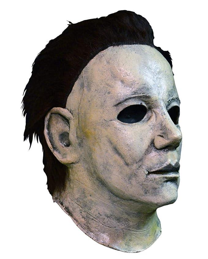 máscara de Michael Myers de Halloween 6 Deluxe: Amazon.es: Juguetes y juegos